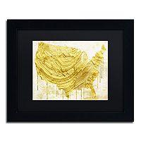Trademark Fine Art American Dream III Black Framed Wall Art