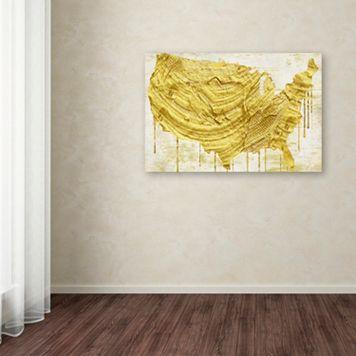 Trademark Fine Art American Dream III Canvas Wall Art