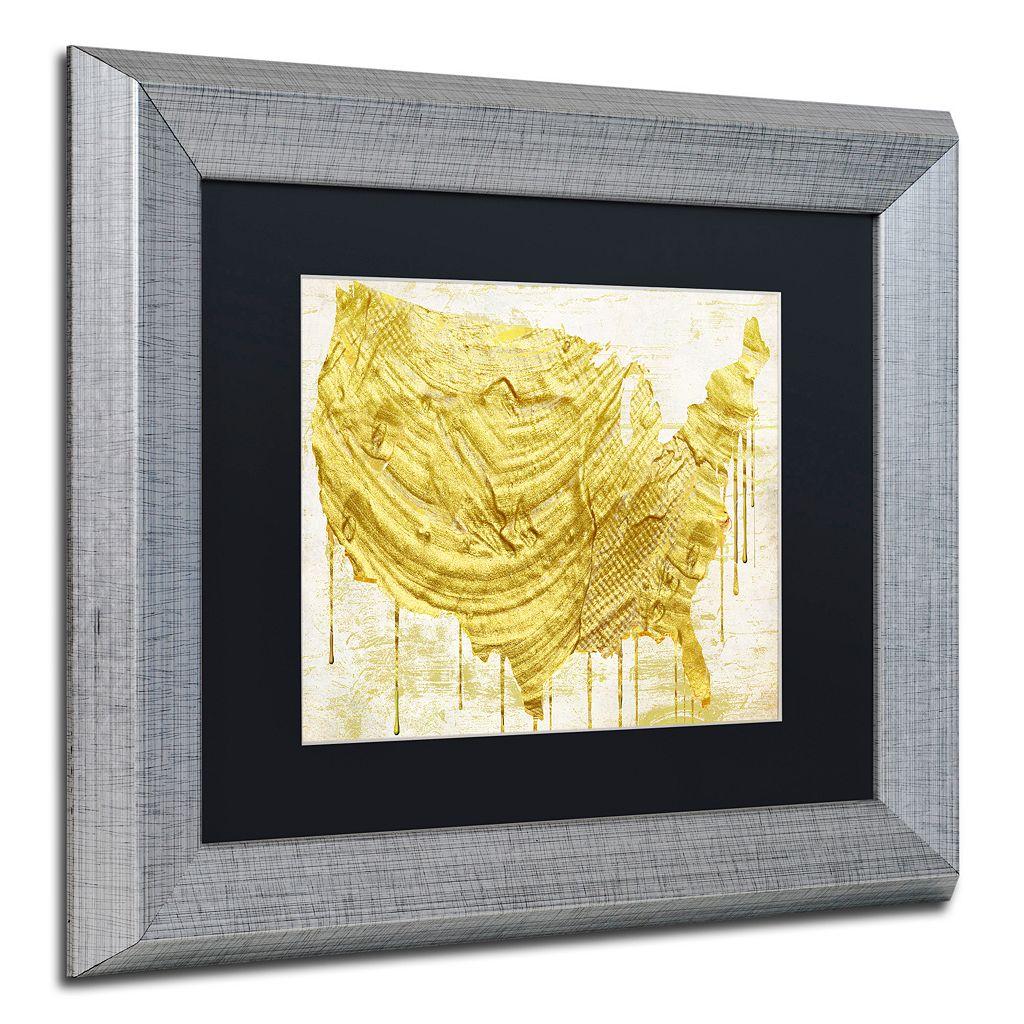 Trademark Fine Art American Dream III Framed Wall Art