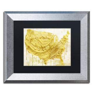 Trademark Fine Art American Dream III Framed Wall Art