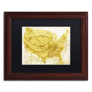 Trademark Fine Art American Dream III Traditional Framed Wall Art