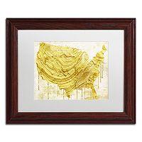Trademark Fine Art American Dream III Traditional Framed Wall Art