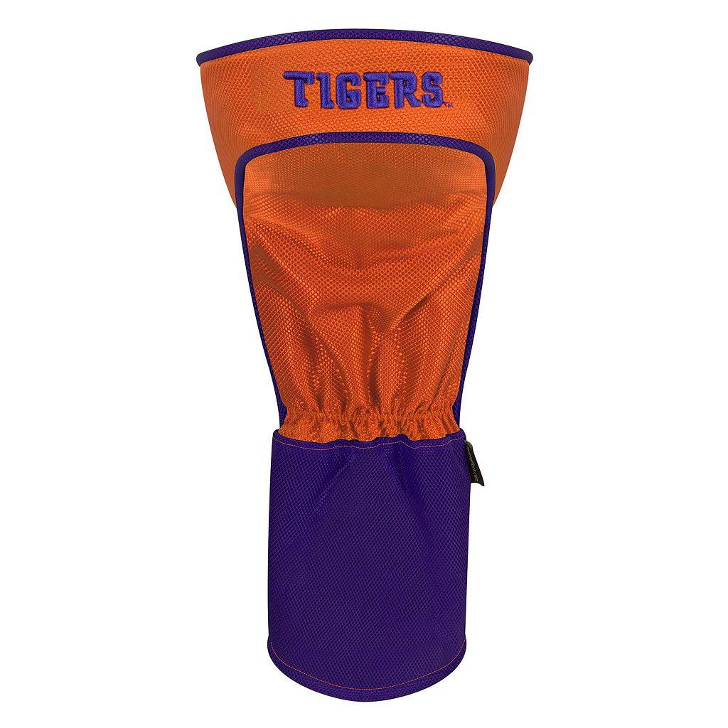 Team Effort Clemson Tigers Stripes Driver Headcover