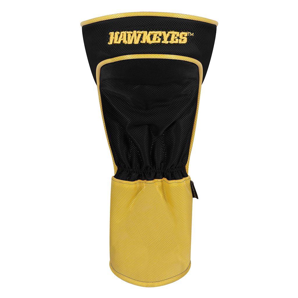 Team Effort Iowa Hawkeyes Stripes Driver Headcover