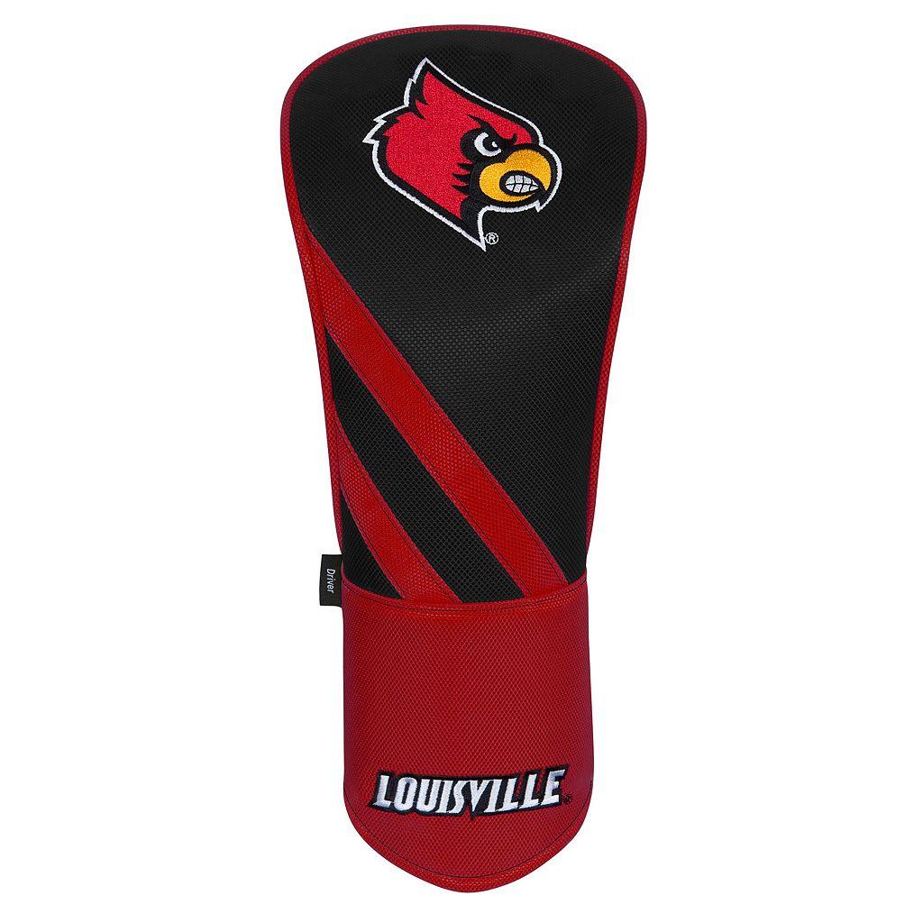Team Effort Louisville Cardinals Stripes Driver Headcover