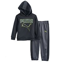 Boys 4-7 PUMA 2-pc. Pullover Hoodie & Pants Set