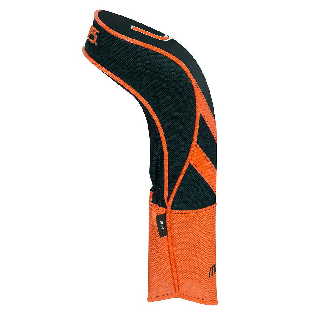 Team Effort Miami Hurricanes Stripes Driver Headcover