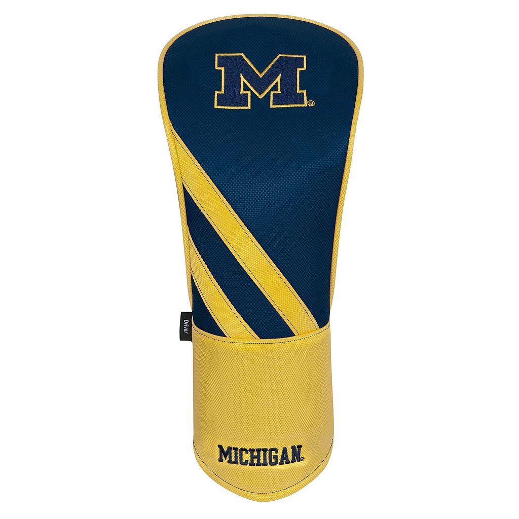 Team Effort Michigan Wolverines Stripes Driver Headcover