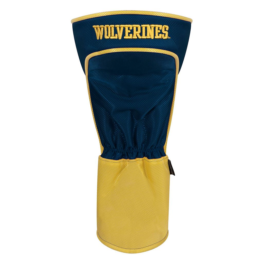 Team Effort Michigan Wolverines Stripes Driver Headcover