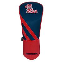 Team Effort Ole Miss Rebels Stripes Driver Headcover