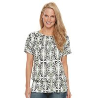Women's Croft & Barrow® Peplum Top