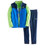 Boys 4-7 PUMA 3 pc Vest, Graphic Tee & Pants Set
