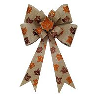 Celebrate Fall Together Light-Up Bow Wall Decor