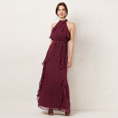 cf2d985ef46 Women s LC Lauren Conrad Tiered Ruffle Maxi Dress