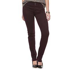 Women's Apt. 9® Tummy Control Curvy Straight-Leg Jeans