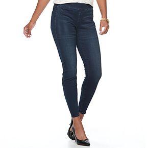 Women's Apt. 9® Curvy Pull-On Skinny Jeans