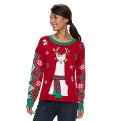 Women's Embellished Christmas Sweater