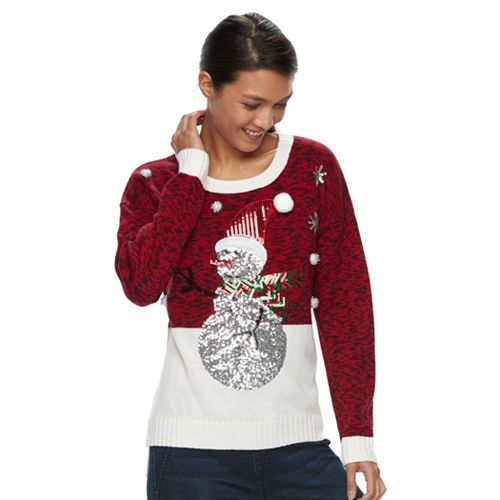 9b4cac315d5 Women's Embellished Christmas Sweater
