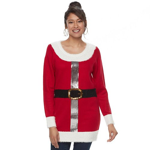 womens us sweaters holiday tunic