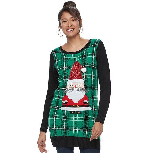 Women's Christmas Tunic Sweater