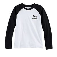 Boys 4-7 PUMA Raglan Faded Tee