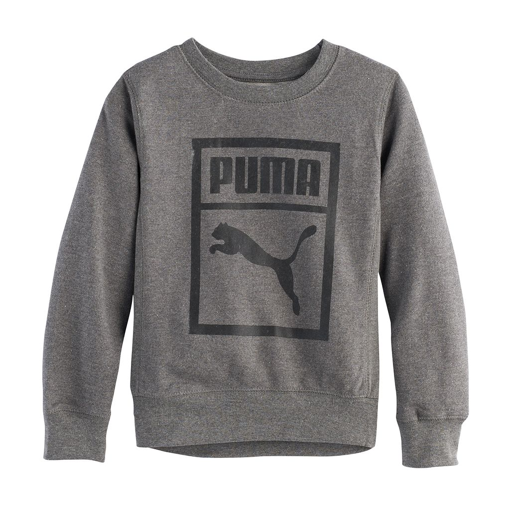 Boys 4-7 PUMA Soft Sweatshirt