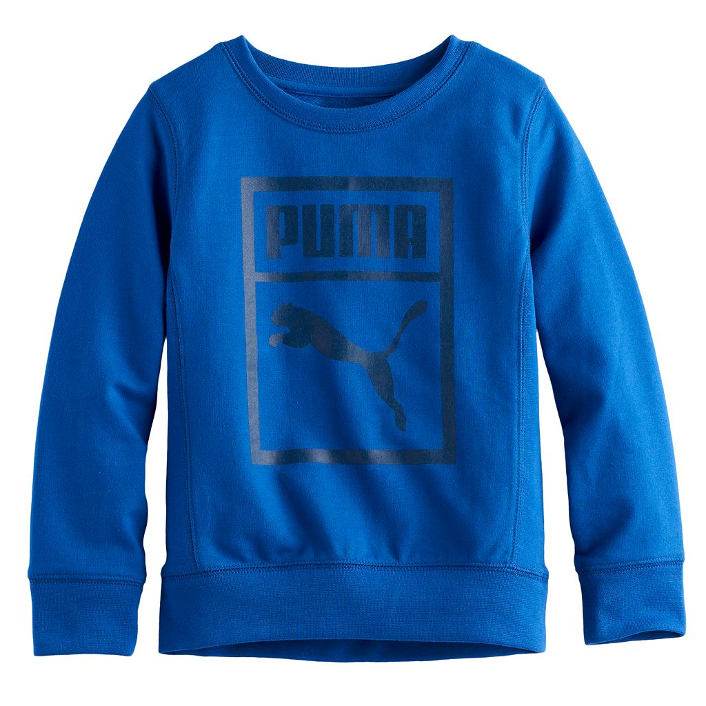 Boys 4-7 PUMA Soft Sweatshirt