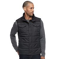 Men's Apt. 9® Colorblock Flex Quilted Puffer Vest