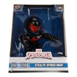 "METALFIGS Spider-Man 4"" Stealth Spider-man Figure"