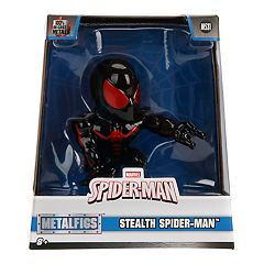 METALFIGS Spider-Man 4' Stealth Spider-man Figure