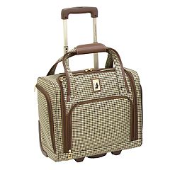 London Fog Cambridge Wheeled Underseater Carry-on Luggage