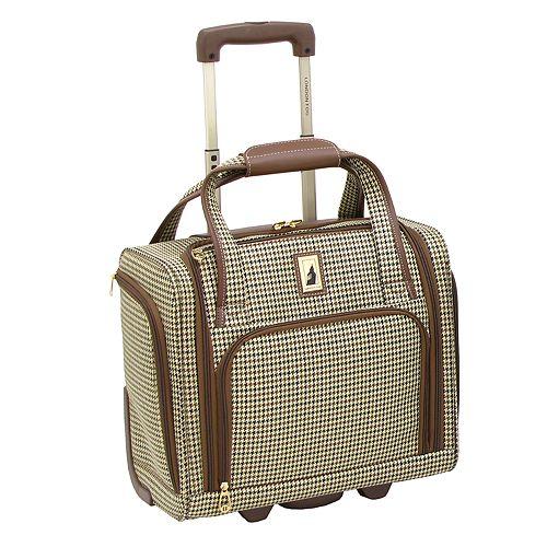 London Fog Cambridge Wheeled Underseater Carry-on Luggage
