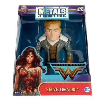 "METALFIGS Wonder Woman 4"" Steve Trevor Figure"