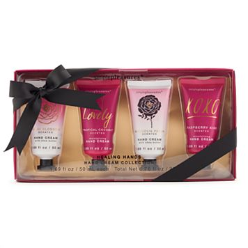 Simple Pleasures Just Glam 4-pc. Mini Hand Cream Collection