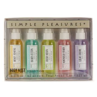 Simple Pleasures Soft Apothecary 5-pc. Mini Body Mist Collection
