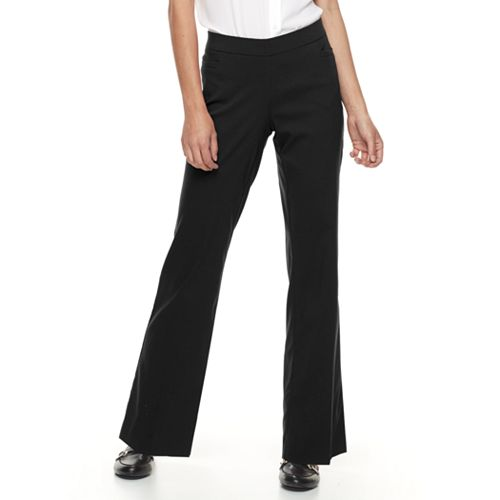 2ad7c108e79c8 Petite Apt. 9® Brynn Pull-On Bootcut Dress Pants