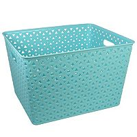 Simple By Design Plastic Bin