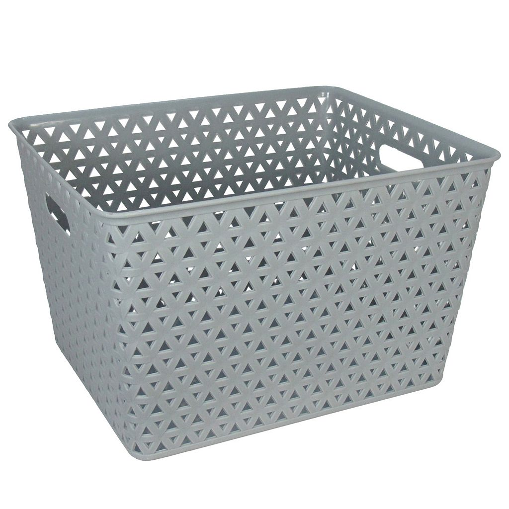 Simple By Design Plastic Bin