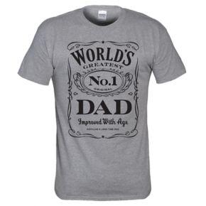 """Men's """"World's No. 1 Dad"""" Tee"""