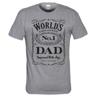 "Men's ""World's No. 1 Dad"" Tee"