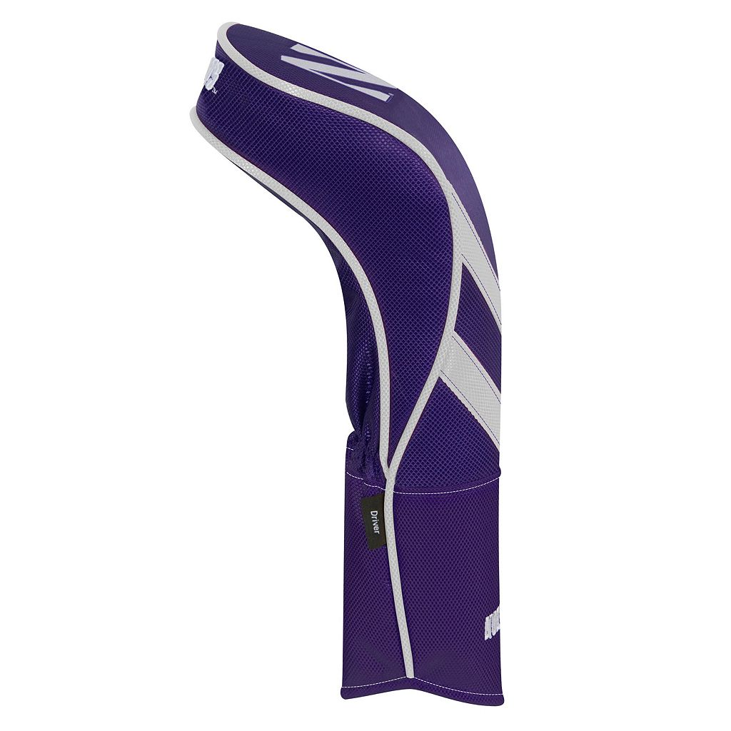 Team Effort Northwestern Wildcats Stripes Driver Headcover
