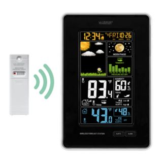 La Crosse Technology Wireless Color LCD Weather Station