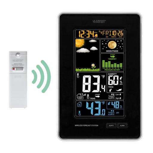 La Crosse Technology Wireless Color LCD Weather Station