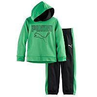 Toddler Boy PUMA 2-pc. Pullover Hoodie & Pants Set