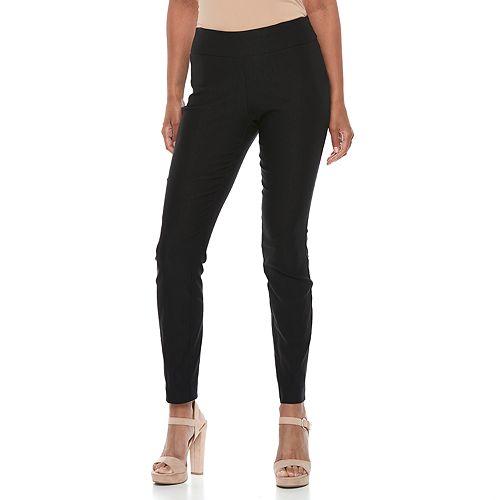 Women's Apt. 9® Brynn Midrise Pull-On Skinny Dress Pants