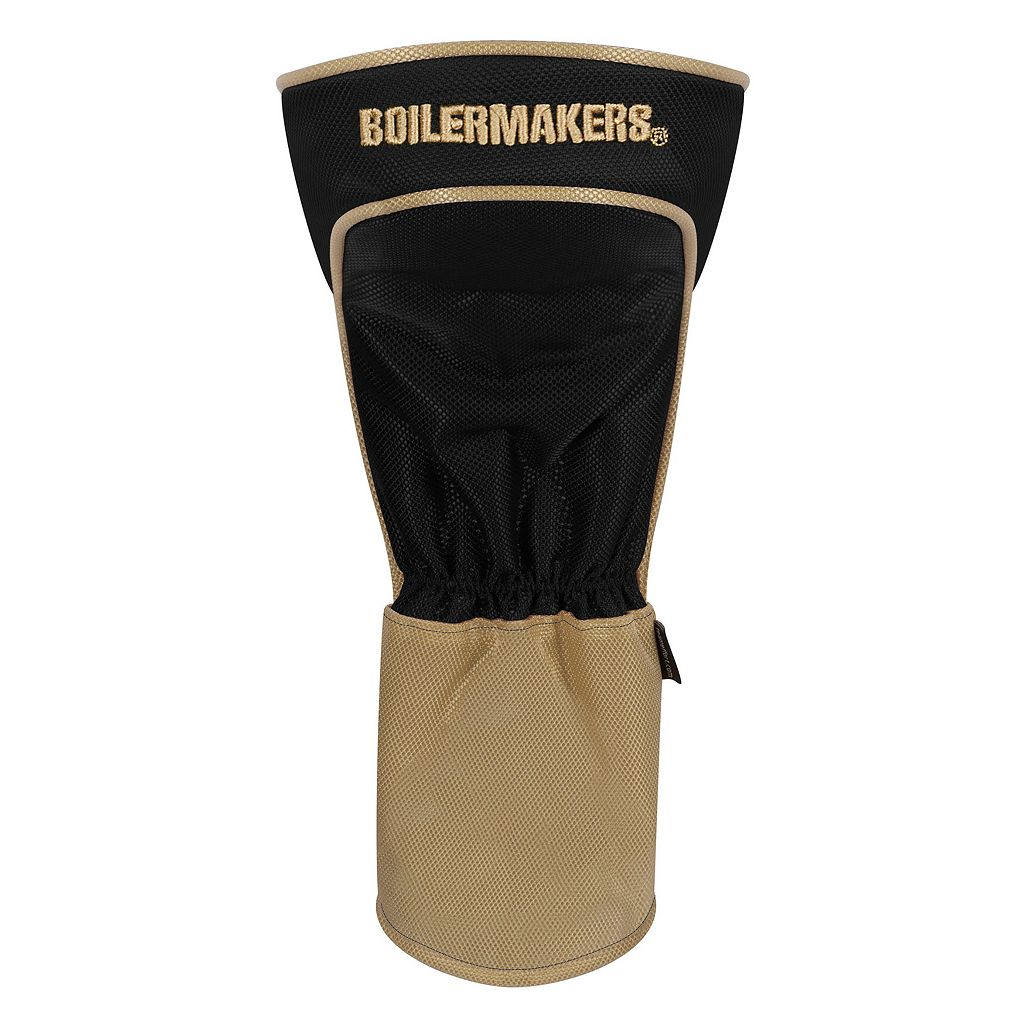 Team Effort Purdue Boilermakers Stripes Driver Headcover
