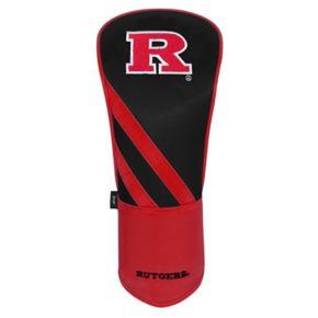 Team Effort Rutgers Scarlet Knights Stripes Driver Headcover