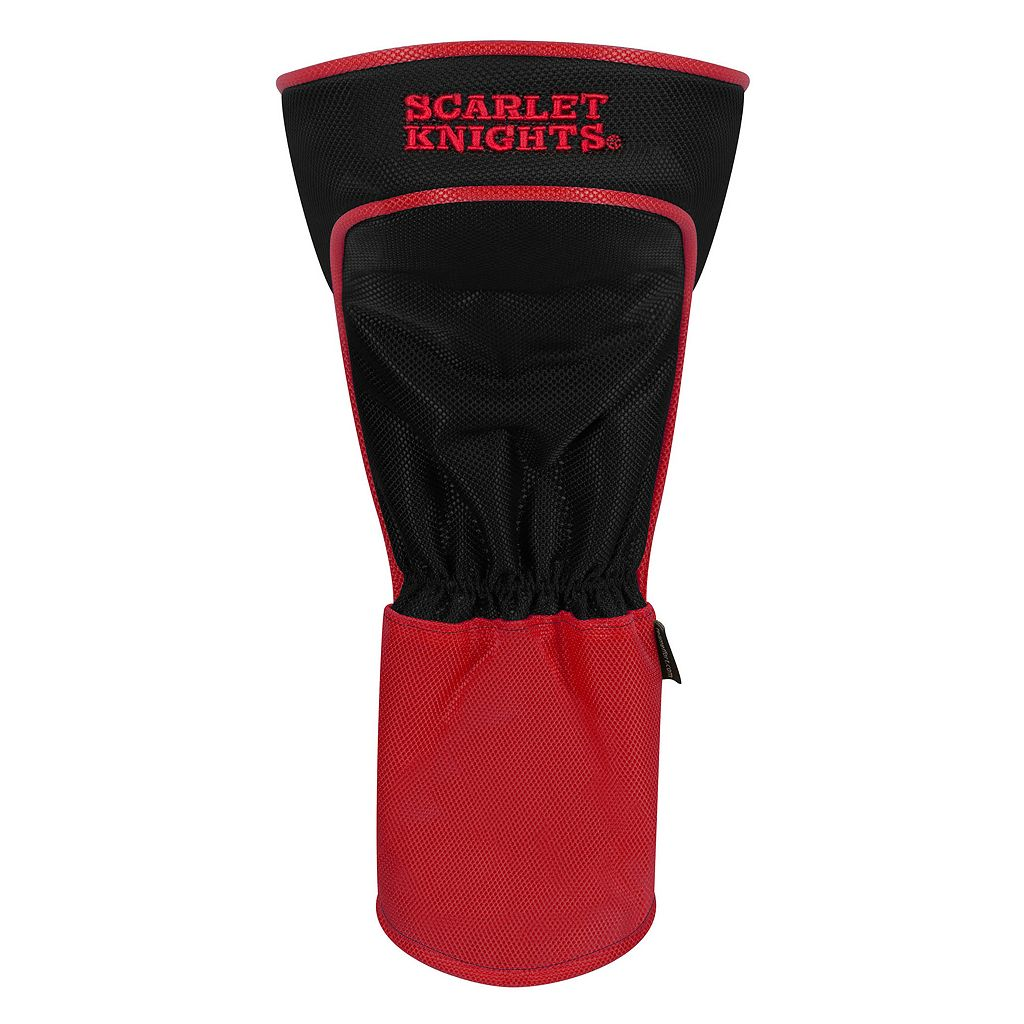 Team Effort Rutgers Scarlet Knights Stripes Driver Headcover