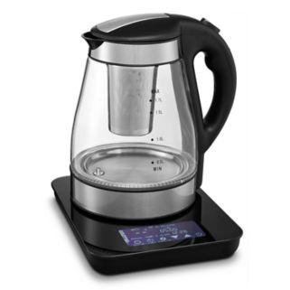 Gourmia Electric Tea Kettle with Cordless Base