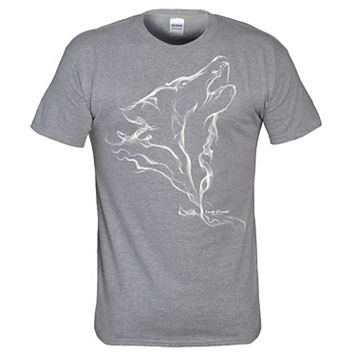Men's Lost Creek Smoke Wolf Tee